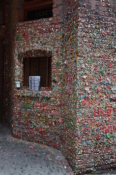 Put gum on the gum wall. Seattle.
