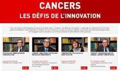 Cancer - les Rencontres de la Cancérologie Française sur «Parcours de soins et du parcours de vie» et la question de l'accès à l'innovation Innovation, Cancer, Interview, Geek, Organization, Geeks