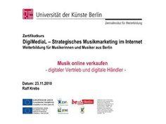 Musik online verkaufen  Digitaler Vertrieb und digitale Händler