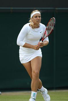 Yonex Tennis, Tennis Wear, Sport Tennis, Steffi Graf, Wimbledon, Tennis Photography, Sabine Lisicki, Tennis Legends, Crossfit Women