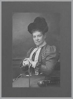Rosalie Luise Freifrau von Beust Graefin von Rhena (1845-1908), Ehefrau von Markgraf Karl von Baden.