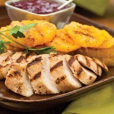 Bourbon-Cranberry Turkey Tenderloin Recipe | MyRecipes.com