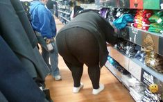 Fat Guy in Yoga Pants | Funny Pictures at WalMart No Yoga For This One People Of Walmart