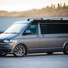 The Clark's Traditional 'Lux' BI-Turbo Edition Camper Conversion - New Wave Custom Conversions the thought of living off grid is charming and romantic to many people. Vw Camper, Campers, Vw T5, Camper Conversion, Family Adventure, New Wave, Clarks, Conversation, Waves