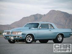 758-horsepower 1963 Pontiac Tempest runs high-9s.
