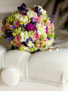 Rosen und Lavendel #Flowers #Wedding