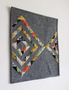 Relfektion mini quilt