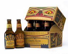 Coastal Salish Brewing Co. - Emily Zuwiala. This is different #packaging PD