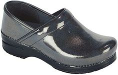 Nursing Shoes - Dansko Professional Patent Clog GREY PRISM..... There has to be cuter shoes for nursing ... Right?