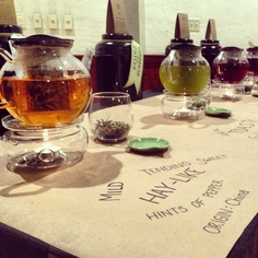 Crafty Tea Tasting by Satori Tea Co. #secretsushi