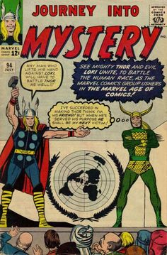 Cover for Journey into Mystery (Marvel, July 1963) #94