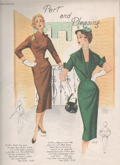 The Modes Royale pattern catalogues will be coming to an end by the end of January. I hope you've enjoyed the stroll through the patterns o. Dress Making Patterns, Vintage Dress Patterns, Vintage Dresses, Vintage Outfits, 1940s Fashion, Look Fashion, Vintage Fashion, 20th Century Fashion, Morning Inspiration