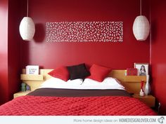 Matt's Color of Passion Bedroom  http://www.techirsh.com