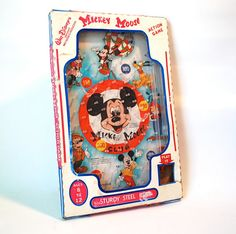 Mickey Mouse Pinball Bagatelle by Wolverine in by WonderlandToys,