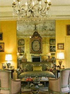 Interiores amarillo