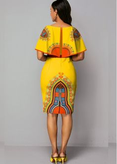 Short African Dresses, Latest African Fashion Dresses, African Print Dresses, African Print Fashion, Women's Fashion Dresses, Trendy Dresses, African Print Dress Designs, African Attire, Couture