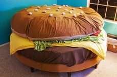 Hamburger Bed. Definitely.