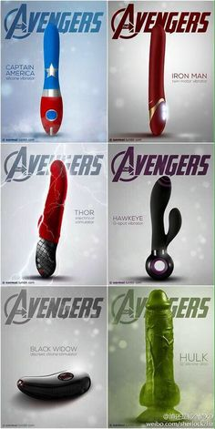Der Superheld für jede Frau! Avenger mal anders!