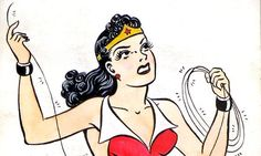 The original comic is inescapably kinky – but the empowered superhero ushering in the matriarchy with a lasso is not the same as one whose skirt has blown up