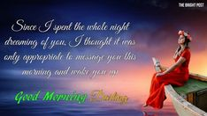 If you want to sparkle your Wife's day, The Brightpost has Beautiful good morning messages with Images for her. So, let's get in the mood for love, and we bet your Wife will be swept off her feet. I Love My Wife, I Love You Baby, Love My Family, Love You So Much, Smile Status, Love Status, Facebook Status, For Facebook, Couple Quotes