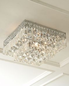 Five-Light Crystal Ceiling Fixture from Horchow on shop.CatalogSpree.com, your personal digital mall.