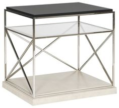 Dexter Lamp Table - contemporary - Side Tables And Accent Tables - Benjamin Rugs and Furniture