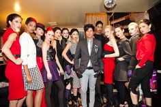 Project Runway winner Seth Aaron at Henderson Project Ethos LAFW 2011