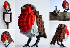3-lego-british-birds - Awesome, spotted on Handmade Charlotte...