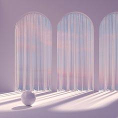 Lavender Aesthetic, Purple Aesthetic, Aesthetic Pastel Wallpaper, Aesthetic Wallpapers, Arquitectura Wallpaper, Aesthetic Space, Japon Illustration, Minimalist Architecture, 3d Studio