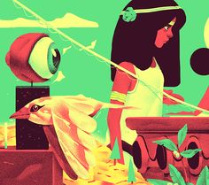 Personal illustrations_part SEVEN on Behance