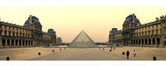Symbolic Meaning Of The Louvre, Paris France Urban Photography, Louvre Paris, 1984, Architecture, Classic, Building, Travel, Usa, Arquitetura
