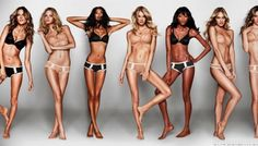 22 Average Girls: Supermodels. a look at amazing models before their big break. #supermodels #runway #victori'ssecret