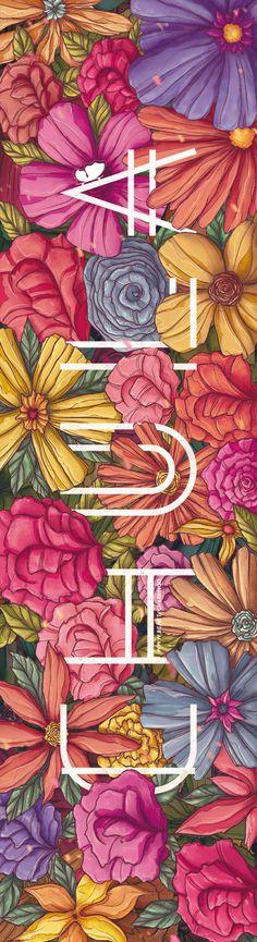 Flores. by Charringo, via Behance