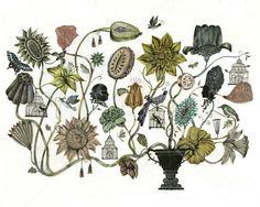 Bouquet - Decoration Murale & Papier Peint Photo - Photowall