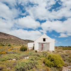Far And Away by Stiaan Schoeman Wonderful Places, Beautiful Places, Old Houses, Farm Houses, Tin Shed, Vernacular Architecture, White Cottage, Countries Of The World, Abandoned Places