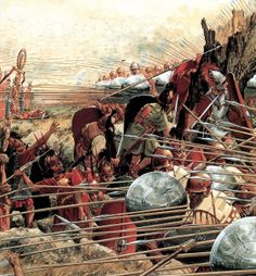"""The Battle of Pydna in 168 BC between Rome and the Macedonian Antigonid dynasty saw the further ascendancy of Rome in the Hellenic/Hellenistic world and the end of the Antigonid line of kings, whose power traced back to Alexander the Great. Paul K. Davis writes that """"Pydna marked the final destruction of Alexander's empire and introduced Roman authority over the Near East.""""[1]"""
