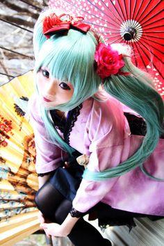 Hatsune Miku Cosplay ♥                                                                                                                                                                                 Más