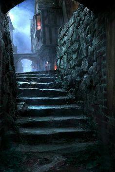 Dark streets of Noth