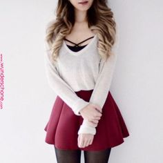 Outfits with skirts 61 Trendy Ideas Skirt Outfits Ideas My Style 61 Trendy Ideas Rock Outfits Ideas My Style Cute Casual Outfits, Girly Outfits, Mode Outfits, Skirt Outfits, Pretty Outfits, Cute Outfits With Skirts, Teen Fashion Outfits, Cute Fashion, Mode Lolita