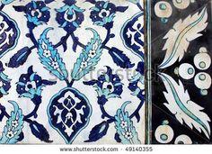 Old Handmade Turkish Tile by muharremz, via ShutterStock