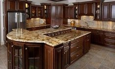 Modern And Trendy Kitchen Cabinets Ideas And Design Tips – Home Dcorz Tuscan Kitchen, Diy Kitchen Cabinets, Assembled Kitchen Cabinets, Solid Wood Kitchen Cabinets, Solid Wood Kitchens, Wood Kitchen, Rustic Kitchen, Kitchen Renovation, Rta Kitchen Cabinets