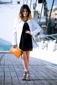 Ultra chic with MCM Chic, Outfits, Black, Fashion, Shabby Chic, Outfit, Moda, Suits, Classy