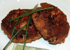 Zesty Salmon Cakes (for Passover)