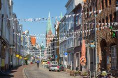 The Hanseatic City of Lübeck, Germany  Fleischhauer Straße