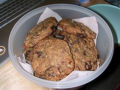 Doubletree's famous oatmeal chocolate chip cookies