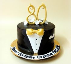 black-suit-80th-birthday-cake.jpg (1120×1000)