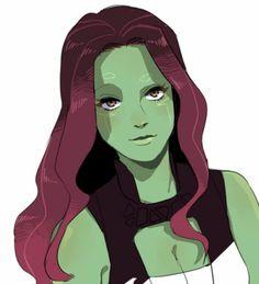Gamora fanart by Marvel Fan Art, Marvel 3, Marvel Girls, Marvel Heroes, Marvel Characters, Marvel Movies, Captain Marvel, Mundo Marvel, Marvel Women