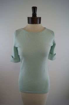 Elliott Lauren Short Sleeve Sweater - Mint