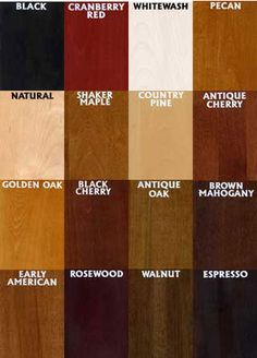 51 Best Wood Stain Colors Images