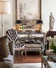 Classic Interior, Diy Interior, Interior Decorating, Interior Design, Budget Decorating, Interior Livingroom, Luxury Interior, Beautiful Interiors, Living Room Decor